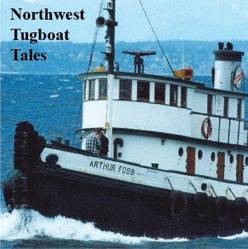 """cover art for the Maritime Folknet CD, """"Tugboat Tales"""""""