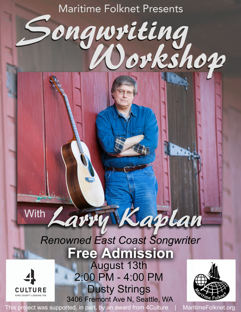Larry Kaplan Workshop Poster 8 copy