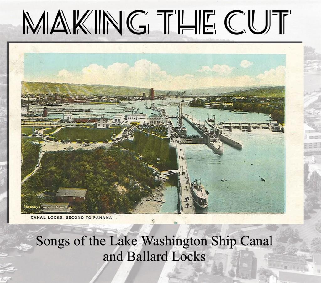 "Cover Art for Maritime Folknet's CD, ""Making The Cut"""