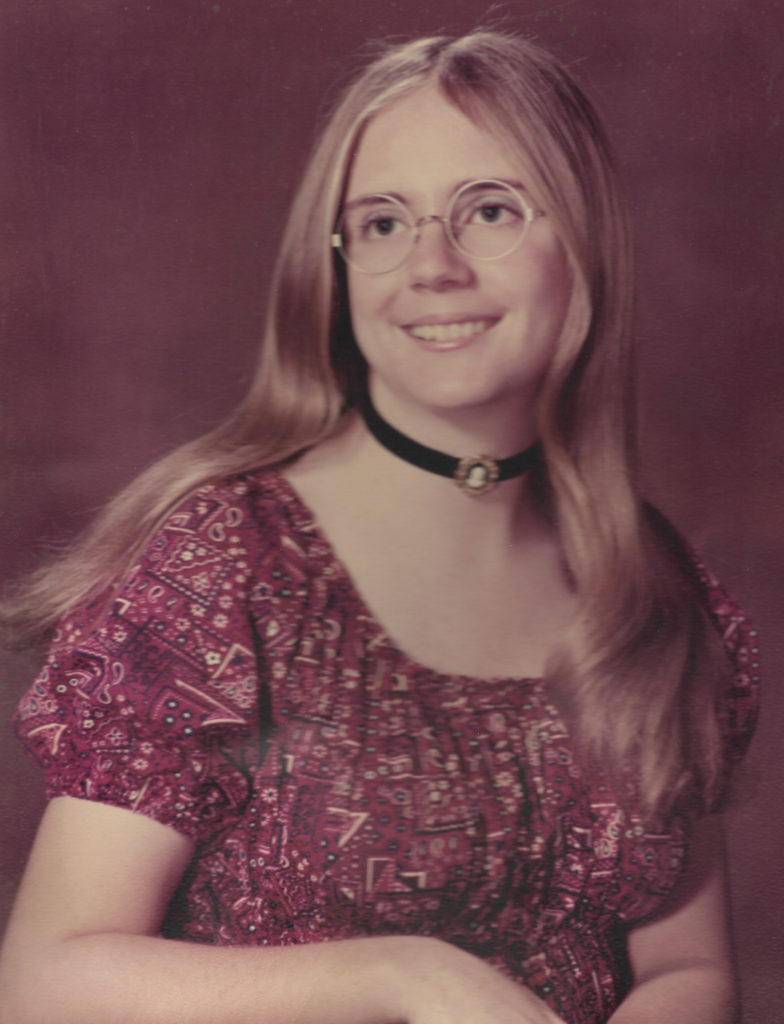 Alice Winship high school graduation photo